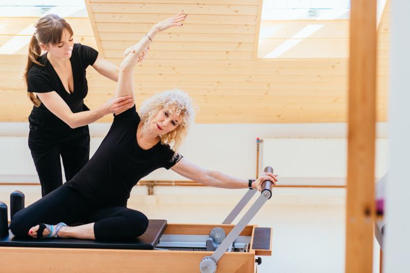pilates ejercicios